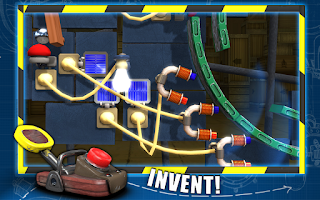 Screenshot of CrazyMachines GoldenGears Lite