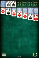 Screenshot of Solitaire Patience Card Game