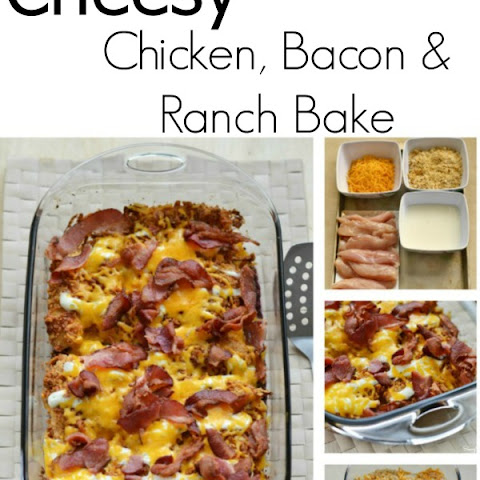 Cheesy Chicken, Bacon and Ranch Dressing Recipe #FoodDeservesDelicious