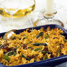 Wheat Noodle Kugel With Vegetables
