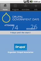 Screenshot of Drupal Government Day
