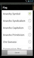 Screenshot of Anarchist & Communist Flag LWP
