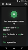 Screenshot of HTC Speak Pack-FI