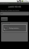 Screenshot of Jumble Solver Plus