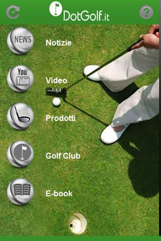 DotGolf Pro il golf in Italia