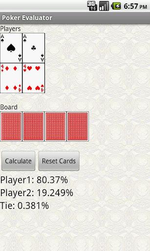 【免費娛樂App】Holdem Poker Hand Evaluator-APP點子