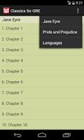 Screenshot of Classics for GRE