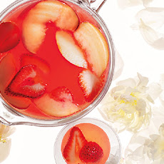 Peach-Berry Sangria