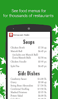 Screenshot of Restaurant Finder