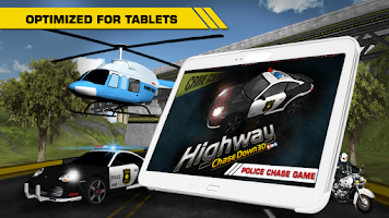 Screenshot of HIGHWAY CHASE DOWN 3D