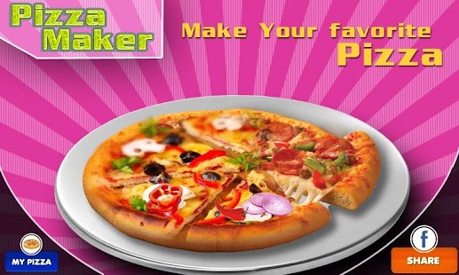 Pizza Maker-Cooking Game - screenshot