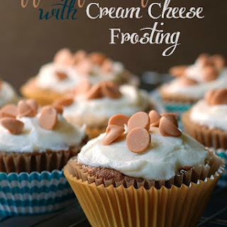 Apple Spice Cupcakes with Cream Cheese Frosting