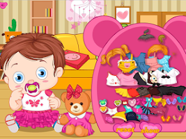 Screenshot of Baby with teddy bear