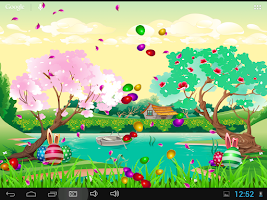 Screenshot of Seasons Spring Live Wallpaper