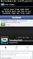 Screenshot of Fake Text Message