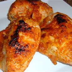 Chicken with Plum Glaze