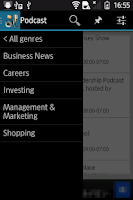 Screenshot of Podcast Search