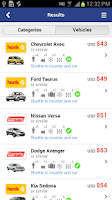 Screenshot of Airport Car Rental