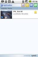 Screenshot of Estradas.pt - Versão Android