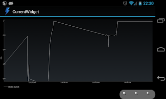 Screenshot of CurrentWidget: Battery Monitor