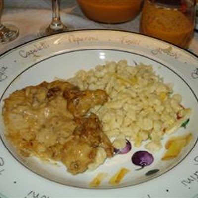 Pork Chops with Delicious Gravy