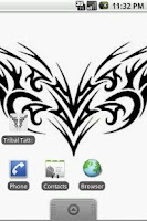 Screenshot of Tribal Tattoo Designs Set 3