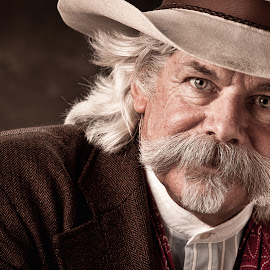 the Marshall by Randy Collier - People Portraits of Men ( cowboy, close up, man, portrait )