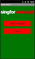 Screenshot of Sing For Wales   Welsh Anthem