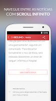 Screenshot of Em Resumo Notícias