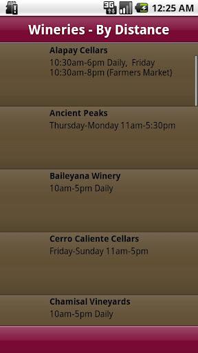 【免費旅遊App】San Luis Obispo Wineries-APP點子