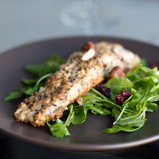 Hazelnut Crusted Trout