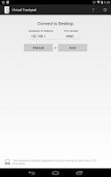 Screenshot of Virtual Trackpad