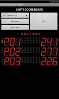 Screenshot of Electronic Darts Counter