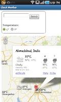 Screenshot of Check Weather