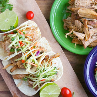 Slow Cooker Jalapeño Ranch Carnitas with Cilantro Lime Slaw