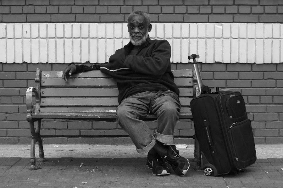 Lafayette Street  by Paul Hopkins - Black & White Portraits & People (  )