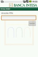 Screenshot of Intesa Mobi