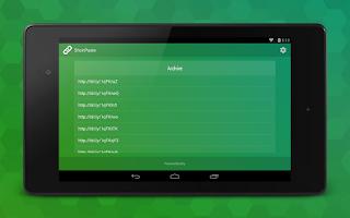 Screenshot of ShortPaste - Autoshorten URLs