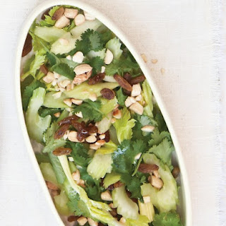 Cilantro, Celery, and Almond Salad