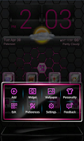 Screenshot of Pink Blend Next launcher