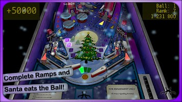 Screenshot of Xmas Pinball Lite