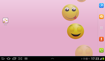 Screenshot of Emoji Live Wallpaper