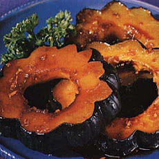 Squash Rings with Honey-Soy Glaze