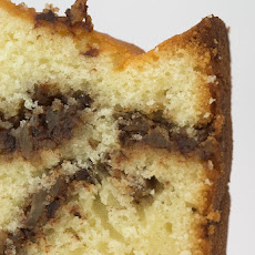 Sour Cream Coffee Cake with Chocolate and Nuts
