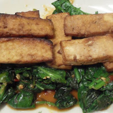 Tofu and Swiss Chard Stacks