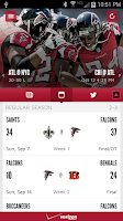 Screenshot of Falcons Mobile