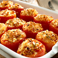 Crumb-topped Roasted Tomatoes