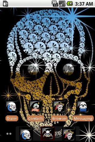 Diamond Skull [SQTheme] ADW