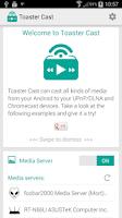 Screenshot of Toaster Cast DLNA UPnP Player
