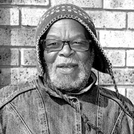 Orange Farm Grandfather by Anthony Fitzhenry - People Portraits of Men